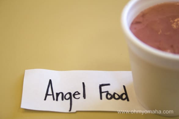 Angel Food is Smoothie Kings's No. 1 seller, consisting of strawberries and bananas.