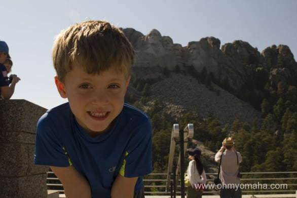 This kid was super excited about Mount Rushmore, or as he likes to call it more formally, Mountain Rushmore.