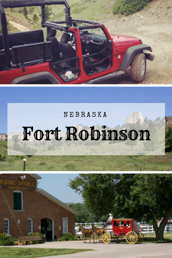 Guide to Fort Robinson State Park in western Nebraska - Things to do and see as a family, from stagecoach rides and pony rides to off-road jeep adventures #Nebraska #familytravel