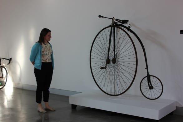 A big wheel bike from 1881. Photo courtesy KANEKO