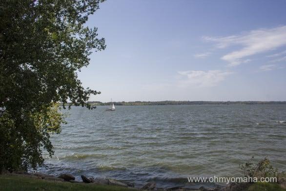 Sailboat at Branched Oak in Nebraska