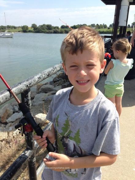 Looks like we're having fun fishing, doesn't it?