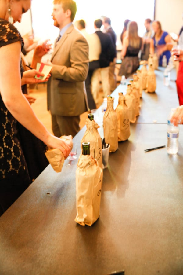 Competitive Wine Tasting For A Cause