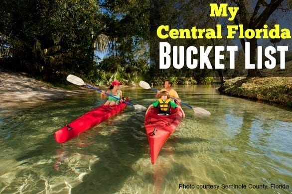 Central Florida bucket list