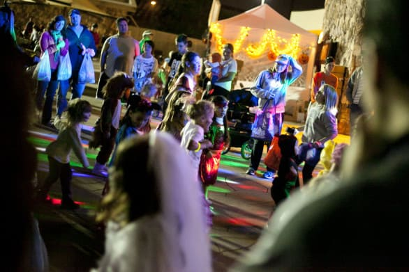 The dance area at Spooktacular. Photo courtesy Omaha's Henry Doorly Zoo & Aquarium