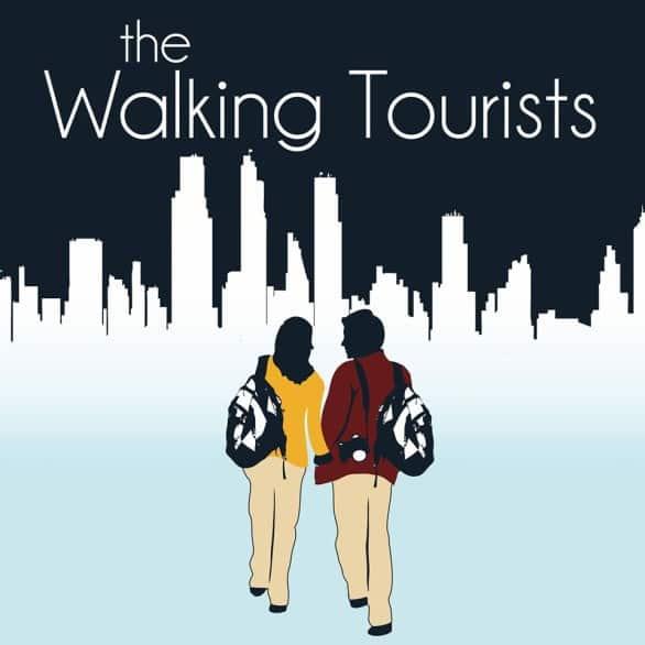 The Walking Tourists logo