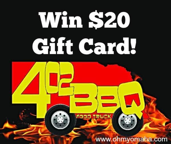 Omaha BBQ food truck giveaway