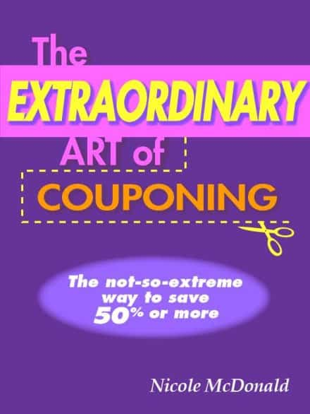"Nicole McDonald wrote the book ""The Extraordinary Art of Couponing"" in 2013. She swears if she had an hour free to write, she'd do it locked in her room."