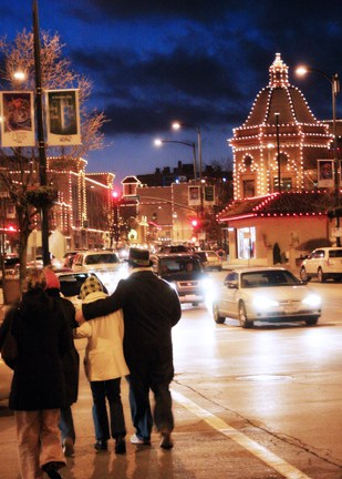 It doesn't get much more Christmas-y than this photo of the Country Club Plaza in Kansas City. Photo courtesy Visit KC