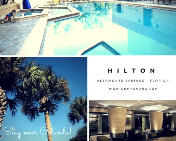Near The Action: Hilton Altamonte Springs Florida