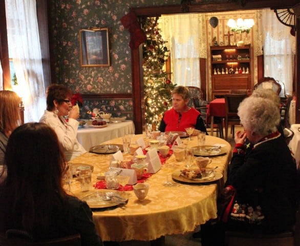 Holiday Tea at Whispering Pines B&B is Dec. 5 and 6 in Nebraska City. Photo courtesy Whispering Pines