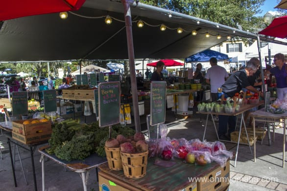 Exploring Winter Park's Saturday Farmers Market. So many goodies to find there!