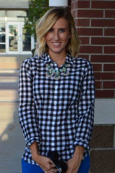 Kristin's the voice behind the stylish blog, A Midwestern Mix. Photo courtesy Kristin Kruse