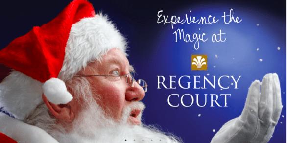 Santa at Regency Court