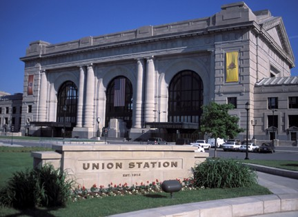 The classic exterior of Union Station in Kansas City. There are a lot of holiday activities held there every year! Photo courtesy Visit KC