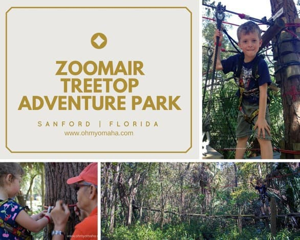 ZOOMAIR Treetop Adventure Park (now known as Seminole Aerial Adventures) at the Central Florida Zoo