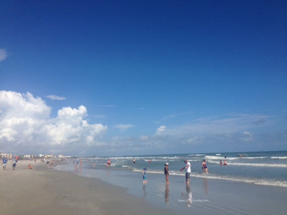 Cocoa Beach is about an hour drive from Seminole County, Florida.