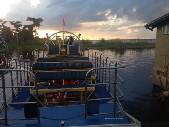 Things to do in central Florida - Take an airboat ride with Black Hammock