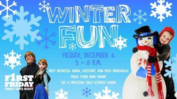 Omaha Children's Museum Winter Fun