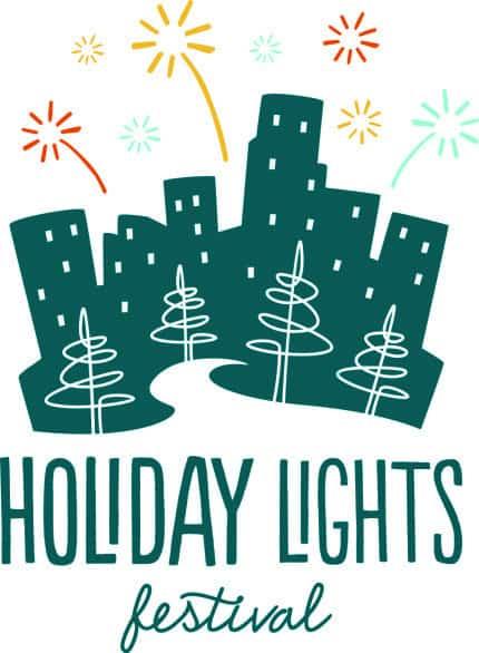 Holiday Lights Festival logo