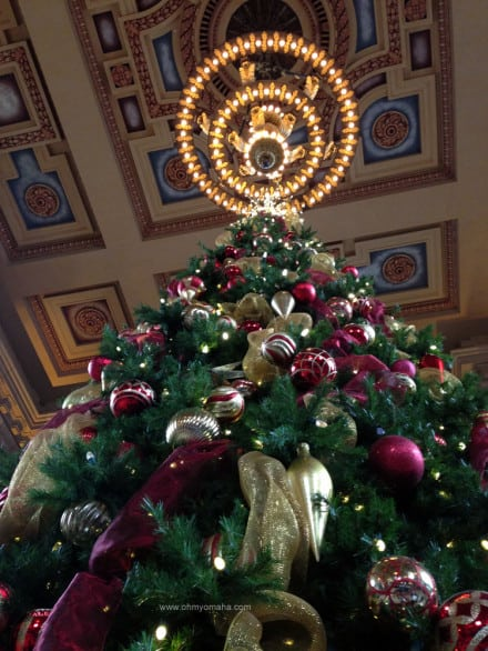 The grand lobby of Union Station would impress you any time of year, but add Christmas decorations and the sight is beautiful.