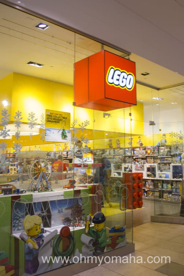 LEGO store inside Oak Park Mall in Overland Park, Kansas