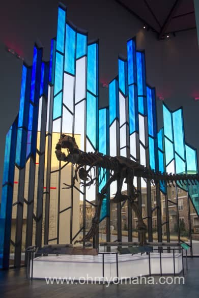 You don't have to pay admission if you just want to see the T-Rex in the lobby of the Museum at Prairiefire.