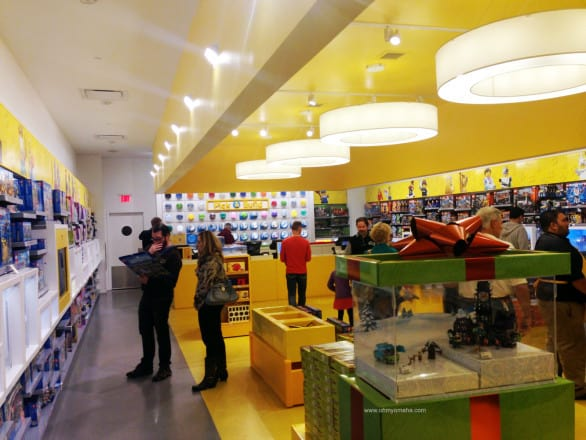 The LEGO Store is located inside Oak Park Mall in Overland Park, Kan.