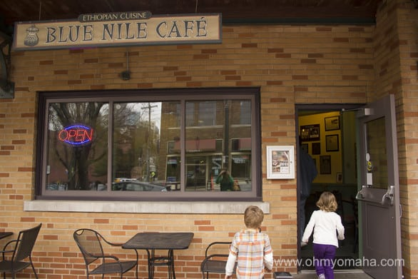 Blue Nile Cafe, an Ethiopian restaurant in the City Market in Kansas City