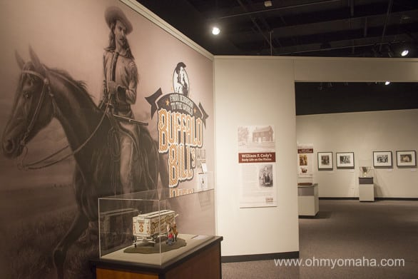 """Buffalo Bill's Wild West Show"" is at The Durham Museum in Omaha through May 1, 2016."