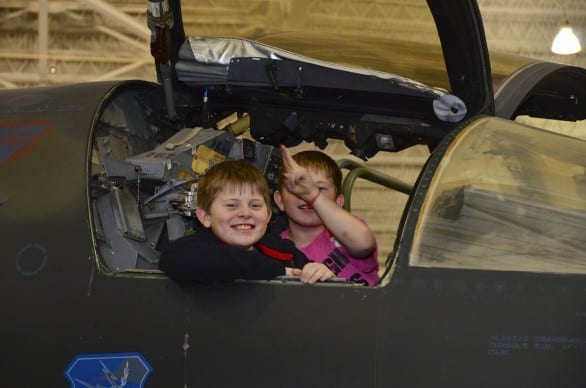 The Family Night Extravaganza Series at the Strategic Air & Space Museum begins in February.