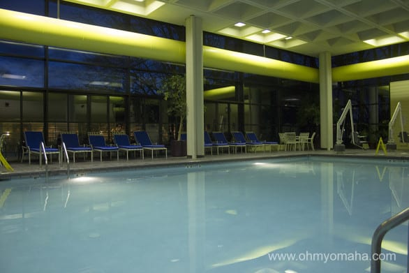 Pool at DoubleTree Hotel in Overland Park, Kansas