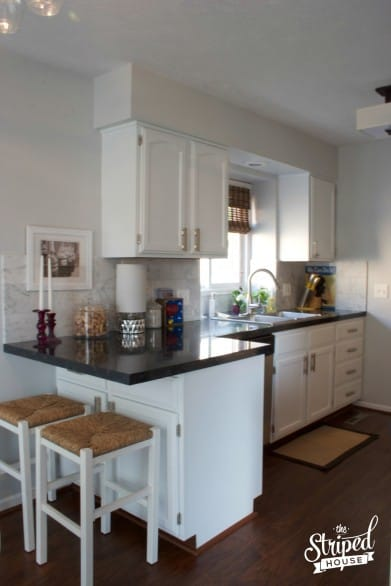 Jennifer's Kitchen Makeover post is one of her blog's most popular posts.