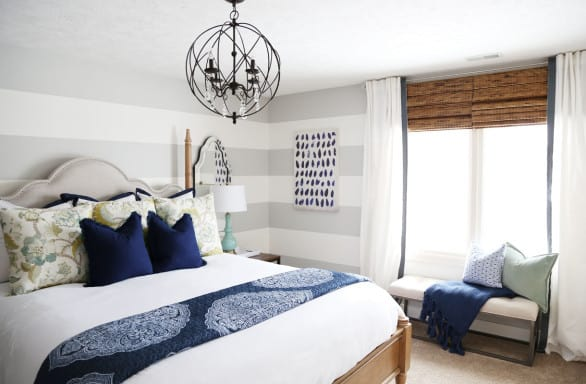 One of Sarah's most popular posts is the guest bedroom makeover.