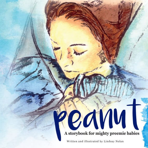 Peanut: A storybook for mighty preemie babies Review + Giveaway