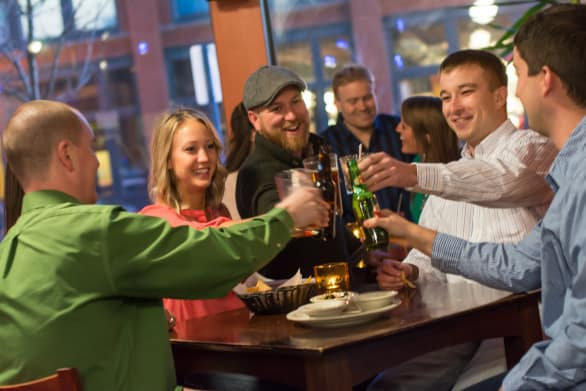 Forth Street District in Sioux City is known for its restaurants and bars. Photo courtesy Visit Sioux City