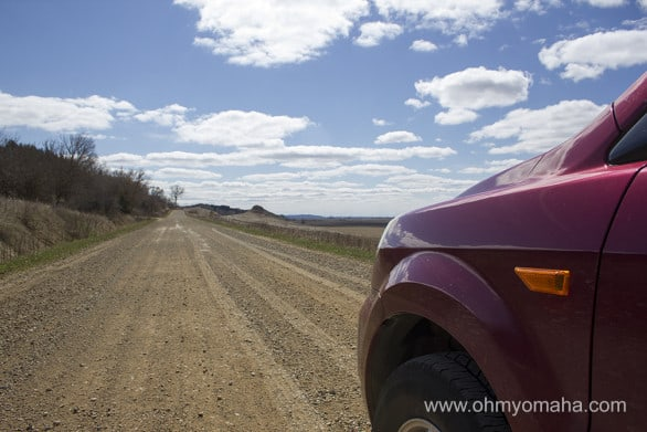 If time permits, always take the route with the dirt road.