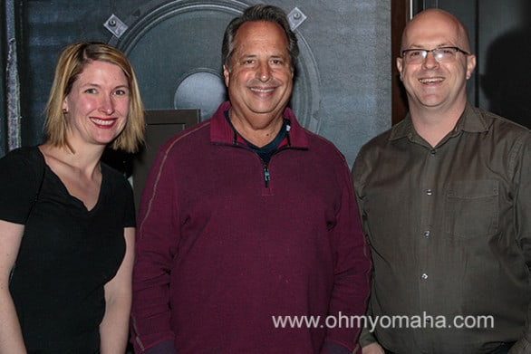 This photo with Jon Lovitz was not taken at karaoke.
