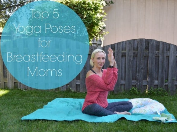 Another popular post on Makingmine features yoga poses for breastfeeding women. Photo courtesy Joanna Murnan