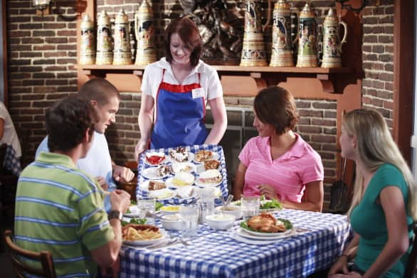 Amana Bucket List - Have a family-style meal at one of the famous German restaurants #Iowa #USA