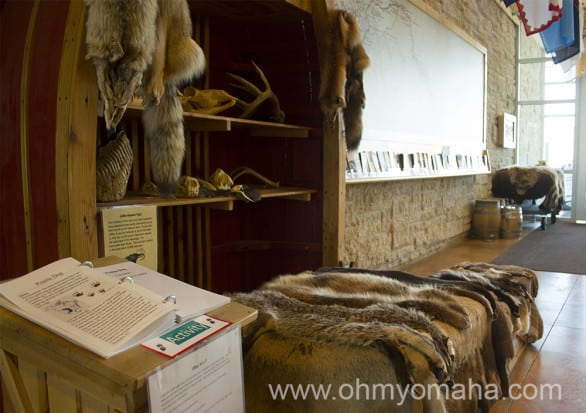 If your kids have to touch everything they come across, they're in luck. Some displays have animal furs and replicas of artifacts for them to touch.