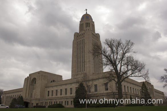 The Centennial Mall was built in 1967 to commemorate the state's 100th anniversary. It's a scenic connection between Nebraska's most important institutions: the State Capitol and the University of Nebraska.