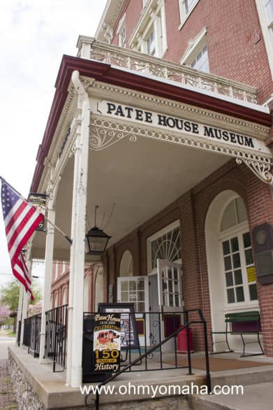 The Patee House Museum is ranked one of the Top 10 Western Museums in the US. It's located in St. Joseph, Missouri.