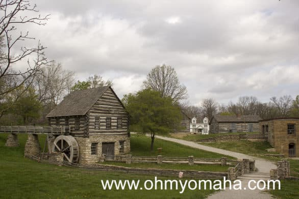 Shoal Creek Living History Museum is a free historical park to explore in North Kansas City. It's so peaceful there!
