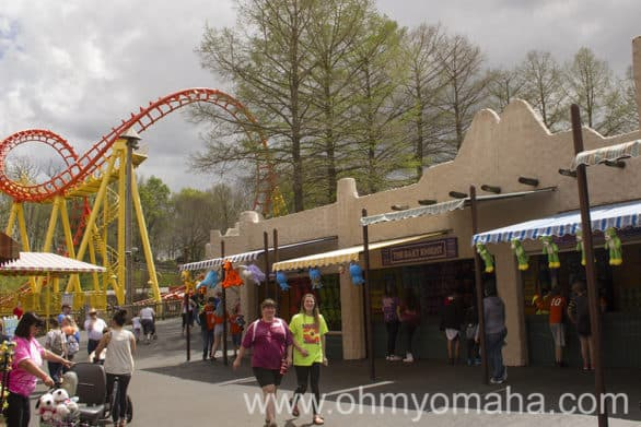 Kansas City's popular amusement park for families, Worlds of Fun
