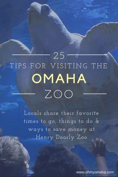 Tips for visiting Omaha's zoo - Locals share their tips for visiting the zoo in Omaha, from saving money to renting strollers to finding the best time to visit the zoo. #Omaha #Nebraska #USA #Guide #Tips