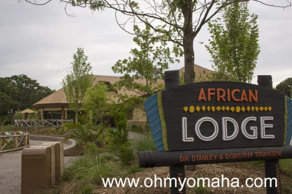 The African Lodge has indoor seating, bathrooms and water fountains. The outdoor patio seats overlooks animal exhibits. This is a great spot to eat a picnic lunch or purchase food at Tusker Grill.