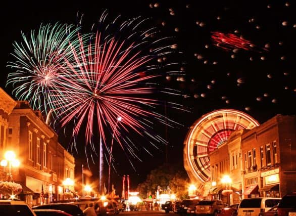 This year, Clear Lake starts its annual multi-day Fourth of July celebration on June 30. Photo courtesy Clear Lake Chamber of Commerce