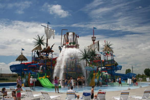 Adventure Bay at Adventureland is Iowa's newest water park. Photo courtesy Catch Des Moines