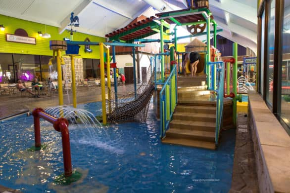 Nothing on our trip could compete with the draw of the Wasserbahn Waterpark at the Ramada in Williamsburg. Don't even try.